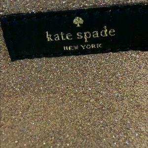 kate spade Bags - Kate Spade sparkle cosmetic bag